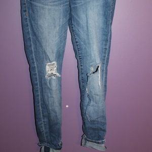 STS Blue Cropped Skinny Jeans
